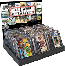 Dale Adkins Americana Farms Ashtrays and Victor Pocket Oil Lighter Combo 12 pc Display