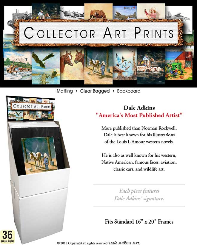 Dale Adkins Collector Art Prints