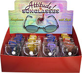 Attitude Sunglasses Display 16 pcs