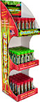 Energy Pix Toothpicks 75pc Tower infused with Caffeine, B-12, & Cinnamon, Peppermint, & Spearmint Flavors. Zero Sugar, Zero Calories