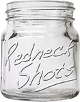 Redneck Mason Jar Shot Glass