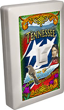 Tennessee Souvenir 6 LED Night Light Wall Switch
