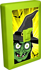 Halloween Witch 6 LED Night Light Wall Switch